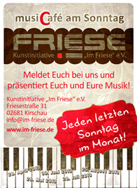 MusikCafé im Friese